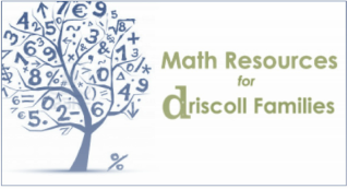 Math Resources for Driscoll Families